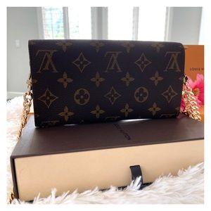 Louis Vuitton Bags - ❤️Vintage LV Large Wallet Small Crossbody!❤️